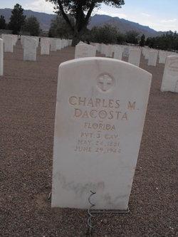 Charles M DaCosta