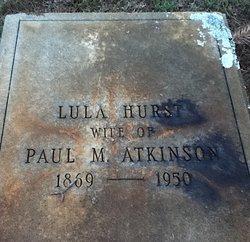 Lula <I>Hurst</I> Atkinson