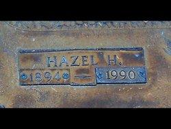 Hazel Belle <I>Hitchner</I> Hitchner