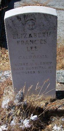 Elizabeth Frances Lee