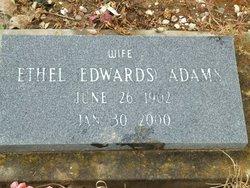 Ethel Clara <I>Edwards</I> Adams