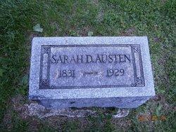 Sarah <I>Daubenspeck</I> Austen