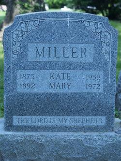 Kate <I>Wisler</I> Miller