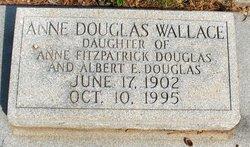 Anne <I>Douglas</I> Wallace