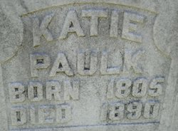 "Catherine ""Katie"" <I>Henderson</I> Paulk"