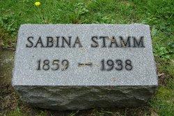 Sabina <I>Rhodes</I> Stamm