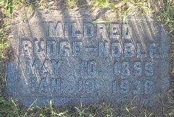 Mildred M. <I>Budge</I> Noble