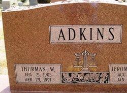 Thurman W Adkins