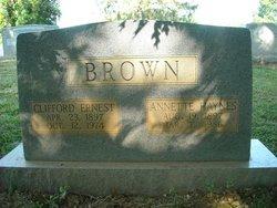Annette Fantress <I>Haynes</I> Brown