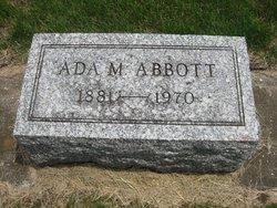 Ada Maude <I>Clark</I> Abbott