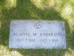 """Agatha Marie """"Aggie"""" <I>Dietz</I> Anderson"""