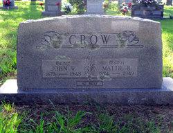"""Martha Roene """"Mattie"""" <I>Bledsoe</I> Crow"""