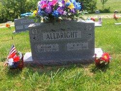 Martha Ruth <I>Moore</I> Allbright