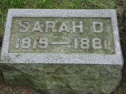Sarah D. <I>Broas</I> Russell