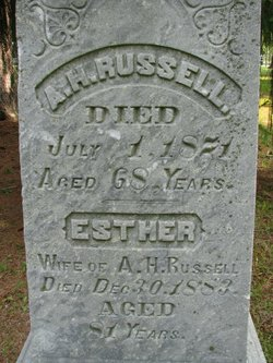 Esther <I>Berry</I> Russell