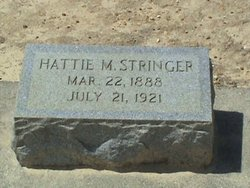 Hattie Mosell <I>Williams</I> Stringer