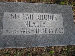 Beulah <I>Rhodes</I> Nealey