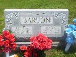 Lydia V <I>Beeler</I> Barton