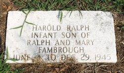 Harold Ralph Fambrough