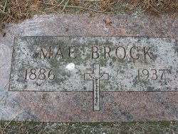 Ida May (Mae) <I>Curtis</I> Brock
