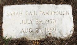 Sarah Gail Fambrough