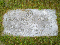 Lawrence G Wolfe
