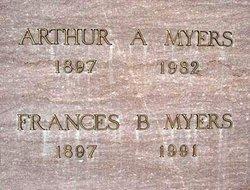 Frances B. <I>Ader</I> Myers