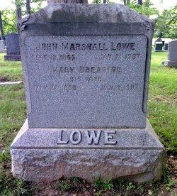Mary Breading <I>French</I> Lowe