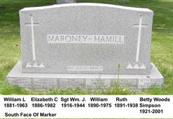 Elizabeth C. <I>Hamill</I> Maroney