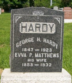 Evva Pattie <I>Matthews</I> Hardy