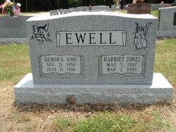 Harriet J. <I>Jones</I> Ewell