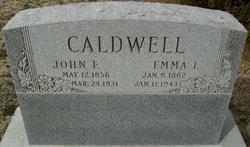 Emma Isabel <I>McKinney</I> Caldwell
