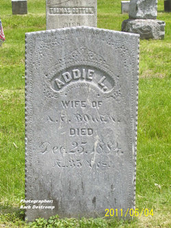 Addie L. <I>Rich</I> Bowen