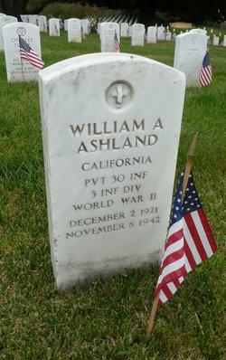 Pvt William A Ashland