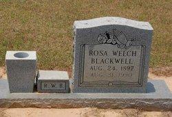 Rosa L. Rosy <I>Welch</I> Blackwell