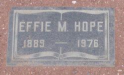 Effie M Hope