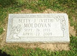 Betty <I>Vieth</I> Moldovan