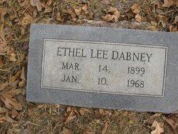 Ethel Lee <I>Crownover</I> Dabney