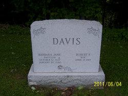 Barbara Jane <I>Davison</I> Davis
