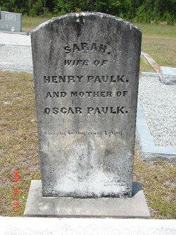 """Sarah """"Sally"""" <I>Griffin</I> Paulk"""