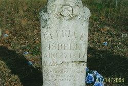 "Clarissa Elizabeth ""Cleria"" <I>Crittenden</I> Isbell"