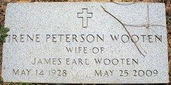Irene <I>Peterson</I> Wooten