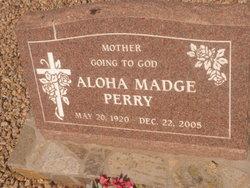 "Aloha Madge ""Madge"" <I>Perry</I> Hughes"