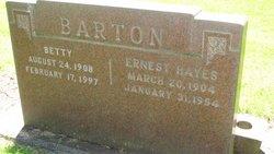 Betty <I>Enright</I> Barton