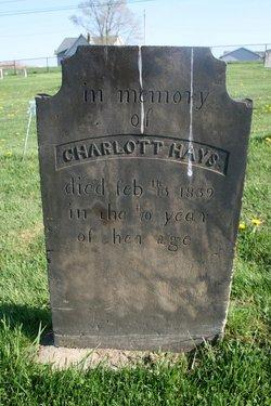 Charlott <I>Thompson</I> Hays