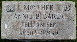 Annie B. <I>Manuel</I> Baker
