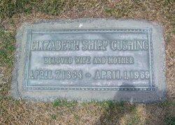 """Lillie Elizabeth """"Elizabeth"""" <I>Shipp</I> Cushing"""