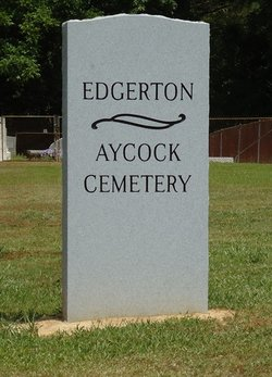 Edgerton Aycock Cemetery