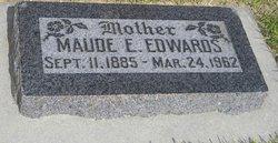 Maude Elizabeth <I>Denny</I> Edwards