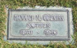 Hannah Margarith <I>Pace</I> Odekirk